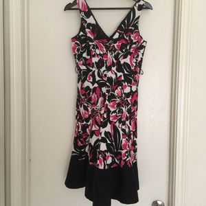Beautiful floral skater dress by Nine West